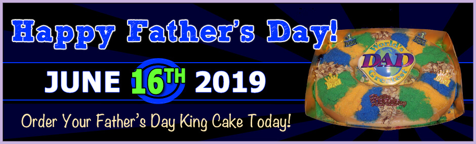 Order a father's day king cake