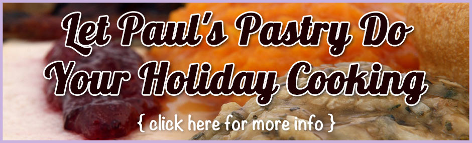 Let Paul's Pasty Do Your Holiday Cooking