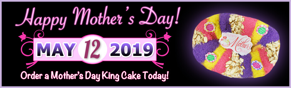 Image of a mother's day king cake