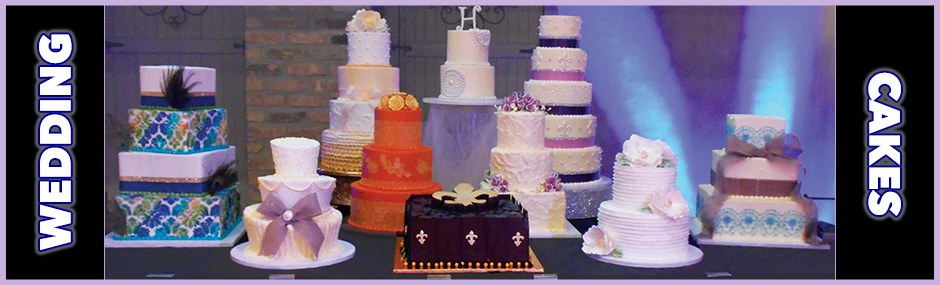 Check out our wedding cakes!