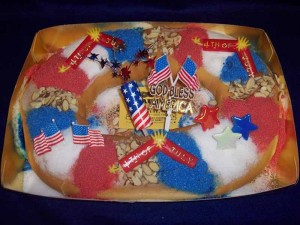 4th of July King Cake
