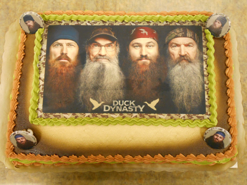 Pauls Pastry Shop Presents Duck Dynasty Cakes Pauls Pastry Shop